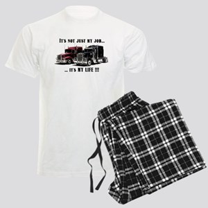 Trucker - it's my life Men's Light Pajamas